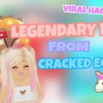 HOW TO HATCH LEGENDARY PETS with CRACKED EGGS (ROBLOX ADOPT