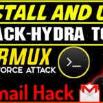 Hack Gmail account via Termux Bruteforce attack BlackHydra