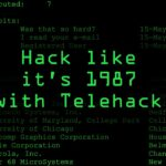 Hack Like Its 1987 with the Telehack Game Tutorial