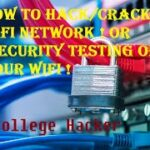 How To HackCrack Wifi Network Password Or Security Testing