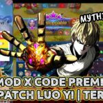 🔥NEW X CODE PREMIUM PATCH LUO YI – AUTO MYTHIC NO