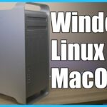 Comparing Linux MacOS and Windows on a Mac Pro