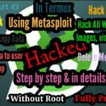 Hack WhatsApp using Metasploit in Termux Without root Download