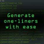 Use One-Lin3r to Quickly Generate Reverse Shells, Run Commands