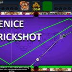 AIM HACK TRICK SHOT IN VENICE 8 BALL BALL POOL SNIPER TOOL 100