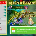Apk Cheat Mobile legends Kuroyama Mod Terbaru Enemy Lag Radar