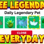 HOW TO GET FREE LEGENDARY PETS EVERYDAY Roblox Adopt Me Hack