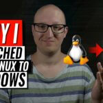 Why I switched from Linux to Windows (yes from Linux to Windows)