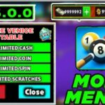 8 BALL POOL HACK 5.0.0 MOD UNLIMITED COINS AND CUES FREE