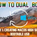 Dual Booting Windows 10 and MAC OS HighSierra PART 1 TAGALOG