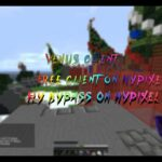 FREE FREE HACKED CLIENT ON HYPIXEL BYPASS FLY ON HYPIXEL