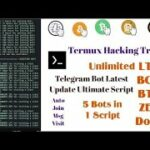 How To Use Termux To Hack Telegram Bots To Mine Free BITCOIN,