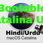 How to make bootable usb for MAC catalina 2020 in HindiUrdu