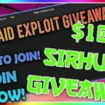 💰 READ COMMENTS GIVEAWAY ENDED SIRHURT SCRIPT