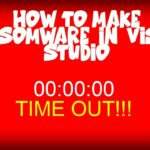 TUTORIAL How to create ENCRYPTING RANSOMWARE in visual studio