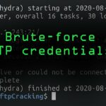 Brute-Forcing FTP Credentials for Server Access Tutorial
