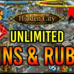Hidden City Hacks – Unlimited Free Coins Rubies Cheats