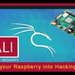 how to turn your raspberry into hacking tool (Kali linux)