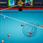 8Ball pool aim hacked 8ball pool playing with long linelink