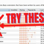 Hack JWT using JSON Web Tokens Attacker BurpSuite extensions