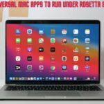How to Force Universal Mac Apps to Run Under Rosetta Emulation