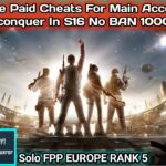 How to Use Paid Cheats For Main Account IN S16 To Reach Conquer