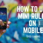 How to use mini ruler on mobile.