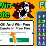 Kill And Win Free All Emotes In Free Fire Get Free All Emote
