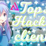 TOP 3 BEST MINECRAFT HACKED CLIENTS FREE 2020 + download in