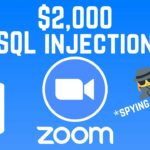 Zoom – turning on someones camera using SQL injection