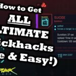 Cyberpunk 2077 How To Get ALL Ultimate Quickhacks EASY FREE