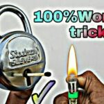 Open Lock Without Key life hack 100working
