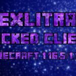 Exlitra Hacked client Cracked (Minecraft 1.16.5, 1.16.3) BYPASS