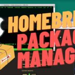 HomeBrew: Package manager for Mac. My favorite Packages