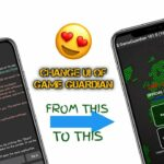 How to change ui of game guardian 😍 with Apk Editor New