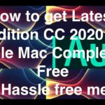 How to Get Latest Audition cc 2020 for mac free guide video