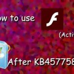 How to run Flash ActiveX after KB4577586