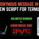 New Spamx Script Send Sms From Termux (No Root) By Noob Hackers