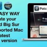 Update Big Sur on Unsupported Mac with Patched Sur NEW EASY