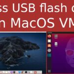 macos-simple-kvm: How to access a USB flash drive