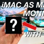 Use iMac As MAIN MONITOR For M1 Mac Mini With THIS 🤯
