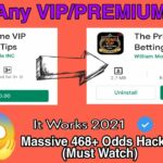 How To Hack Any VIP PREMIUM Betting APPS 2021 Hack Any Apps