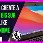 🔥 How to Create a macOS Big Sur Look Alike with GNOME Desktop