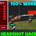 FREE FIRE LATEST AUTO HEADSHOT HACK AFTER UPDATE 100 WORKING