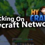 Hacking On Hycraft With Liquidbounce b73 cracked verus be like: