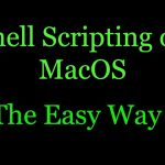 How to write and execute shell script on macOS Shell script