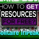 New Solitaire TriPeaks Hack Tool – Generate free Tickets and