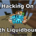 Hacking On Minebox With Liquidbounce b73 another server with