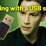 Hacking with a USB stick?