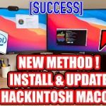 NEW Method Install and Update Hackintosh macOS on AmdIntel PC